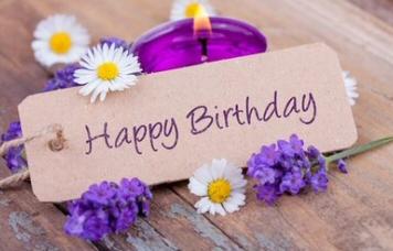 Geburtstagsarrangement
